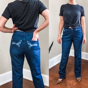 Christopher & Banks hi rise boho pocket jeans 4